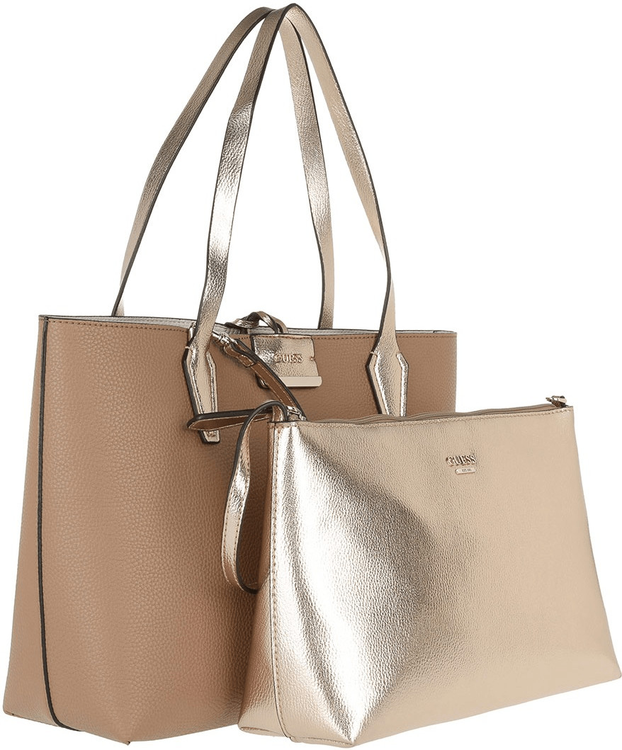 Guess Bobbi Inside Out Tote latte/nude (LN642215)