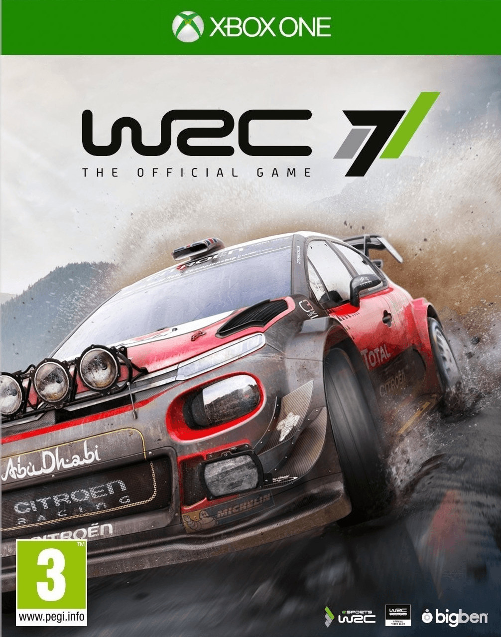Image of WRC 7 (Xbox One)
