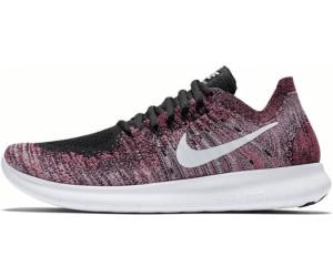 Nike Free RN Flyknit 2017 Damens schwarz racer pink gamma Blau Weiß ab