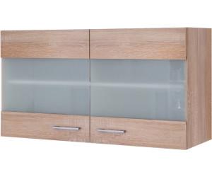 Küchen-Hängeschrank ROM Küchenschrank Oberschrank 2 Türen 100 cm eiche sonoma