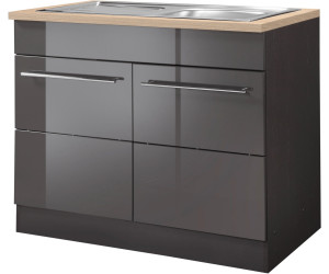 held m bel sp lenschrank 100cm ab 237 99 preisvergleich bei. Black Bedroom Furniture Sets. Home Design Ideas