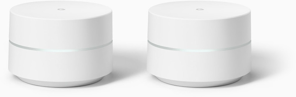 Image of Google WiFi Whole Home Router (Twin Pack)