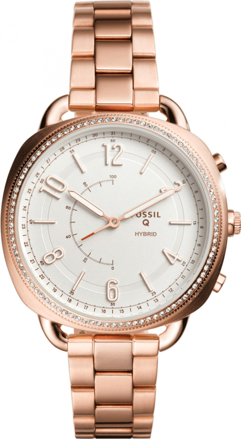 Fossil Q Accomplice Stainless Steel roségold
