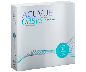 Johnson   Johnson Acuvue Oasys 1-Day avec technologie HydraLuxe (90  lentilles) d8b9008b14e0