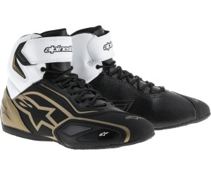 Bottes ALPINESTARS Stella Faster-2 Lady Black / White / Gold 6.5 (EU 38) WHiBRNG