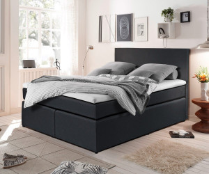 delife elexa 140x200cm schwarz ab 489 00 preisvergleich bei. Black Bedroom Furniture Sets. Home Design Ideas