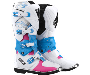 Crossstiefel Sidi X-3 Lei Damen Rosa-Weiß-Hellblau 40 0JvTiq8