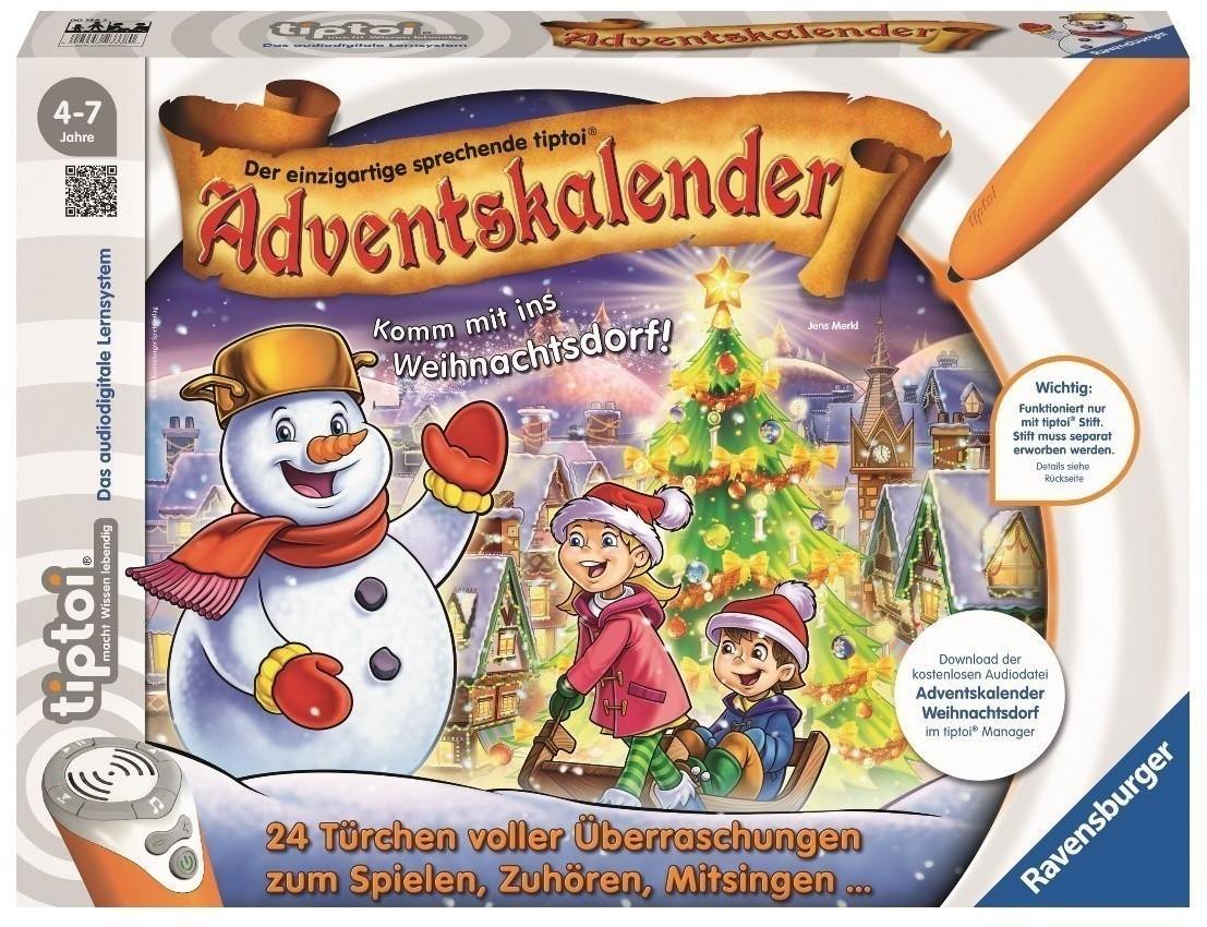 Ravensburger Tiptoi Adventskalender Komm mit ins Weihnachtsdorf (2017)