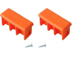 Krause Paar Kopfstopfen orange 64 x 25mm (211200)