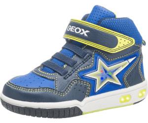Geox Jungen J Alonisso Boy C Hohe Sneaker, Blau (Royal), 27 EU