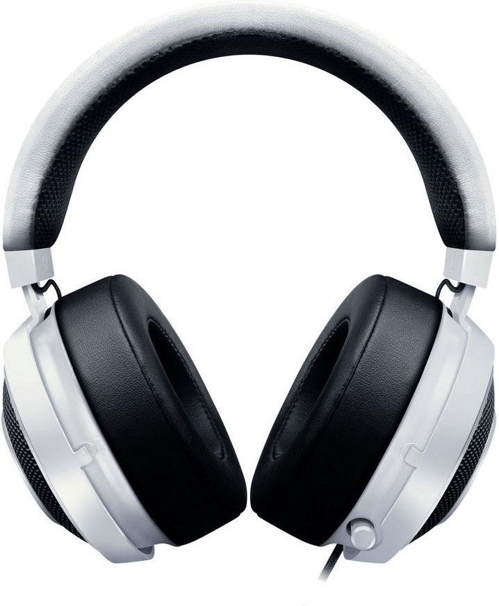 Kraken Pro V2 auricular con micrófono Binaural Diadema Blanco, Auriculares con micrófono