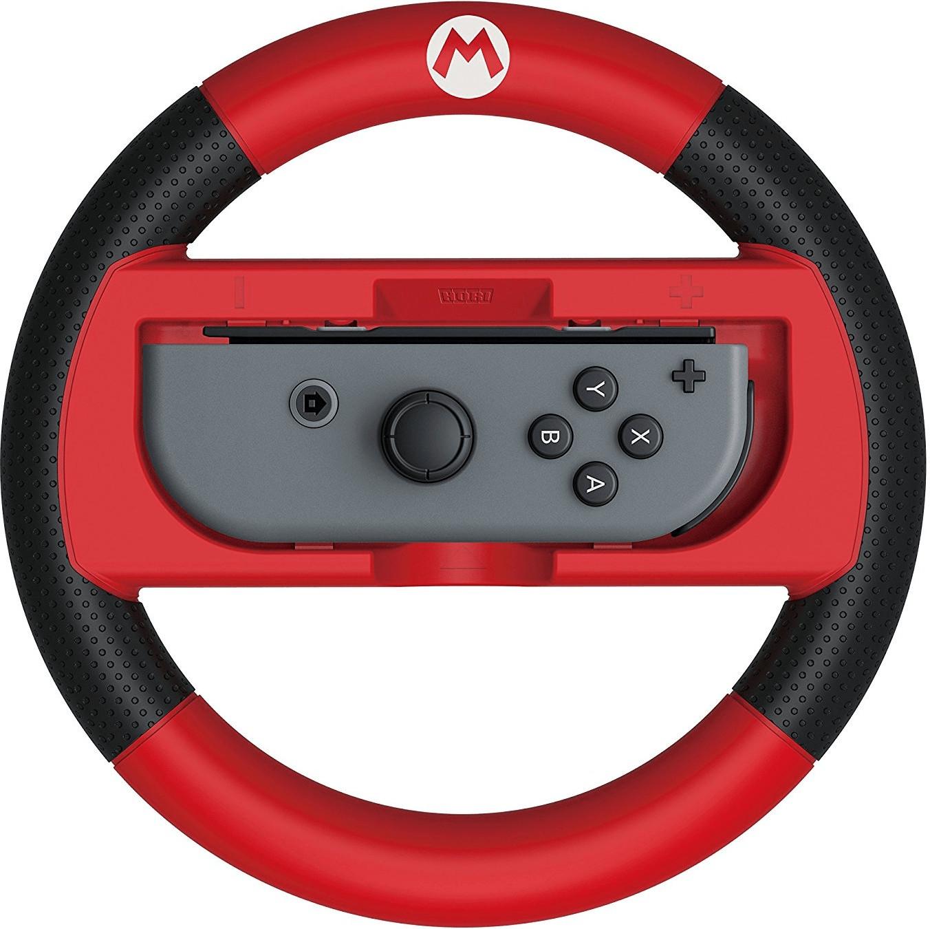 Image of Hori Nintendo Switch Mario Kart 8 Deluxe Wheel Attachment (Mario)