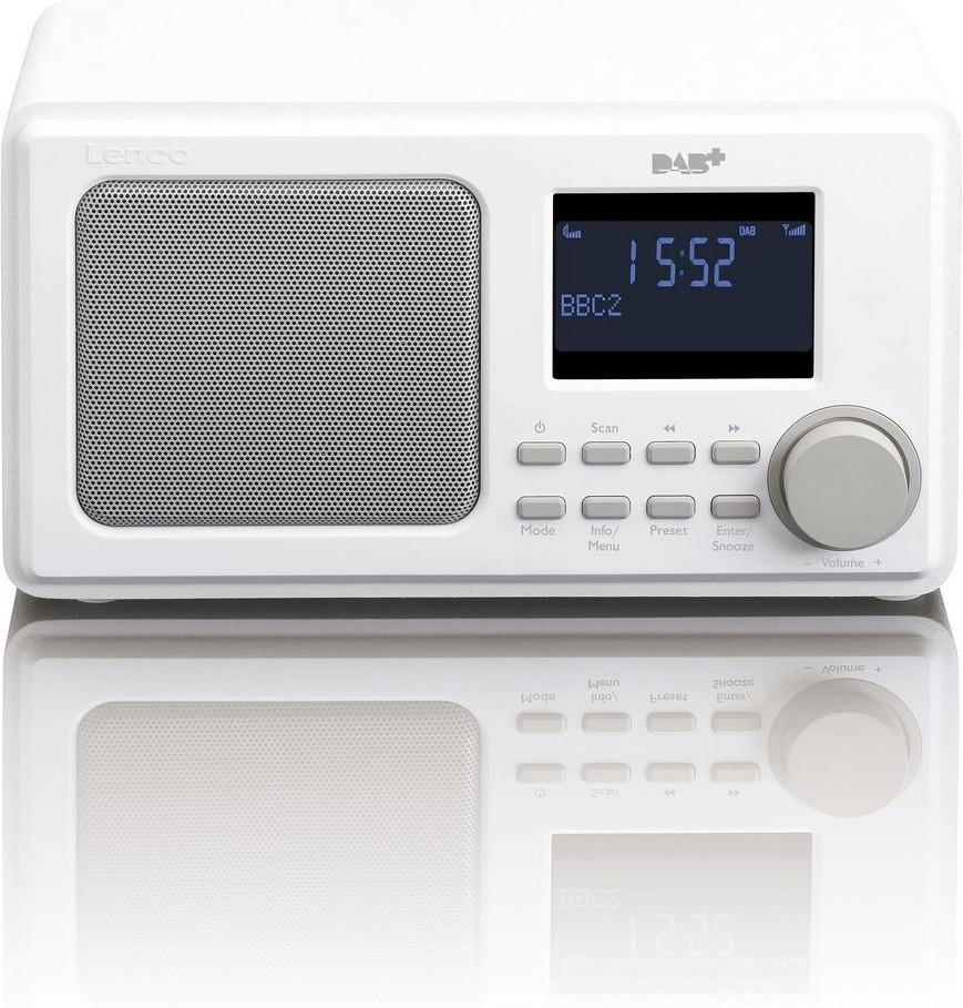 Image of Lenco DAR-010 white