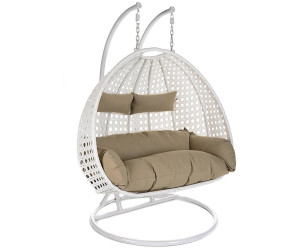 Home Deluxe Twin Rattan Hangesessel Weiss Ab 399 48