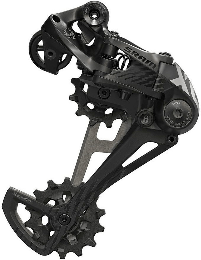 SRAM X01 Eagle Schaltwerk (schwarz)