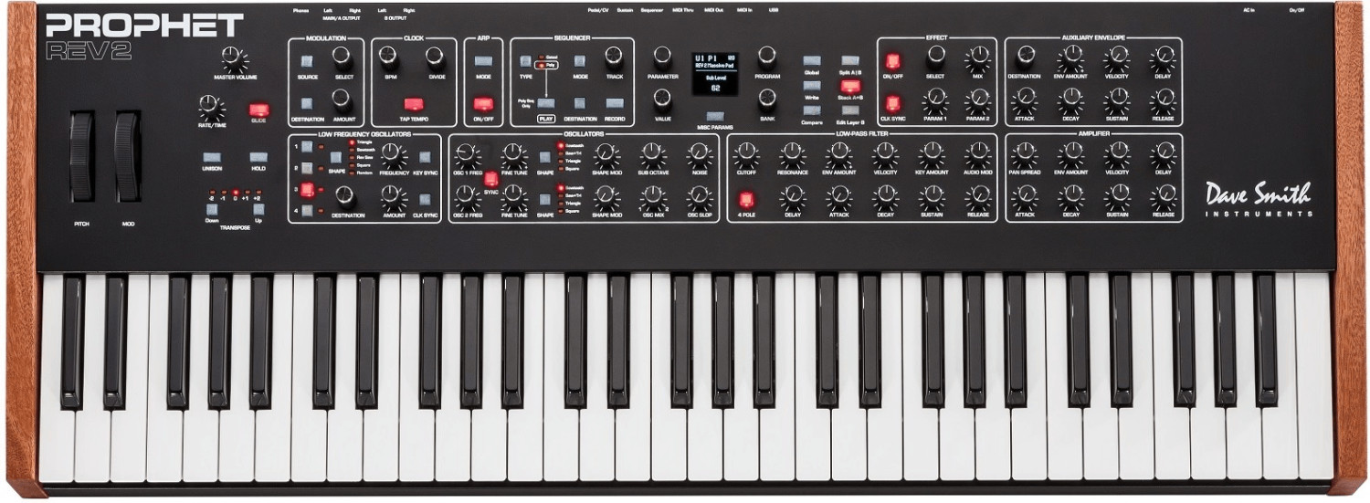 Image of Dave Smith Instruments Prophet REV2-8