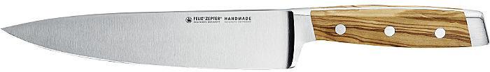 Felix First Class Wood Kochmesser mit Fingerschutz 21 cm