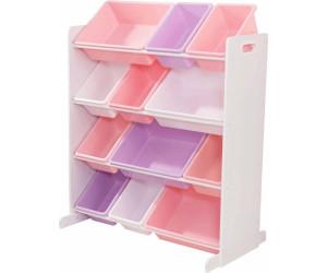kidkraft aufbewahrungsboxen wei pastellfarbe 15450 ab. Black Bedroom Furniture Sets. Home Design Ideas
