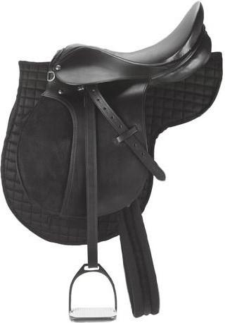 Kerbl Sattel Set schwarz Pony (32196)
