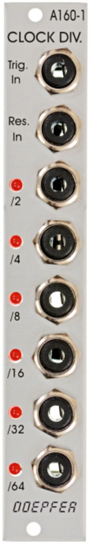 Image of Doepfer A-160 Clock Divider
