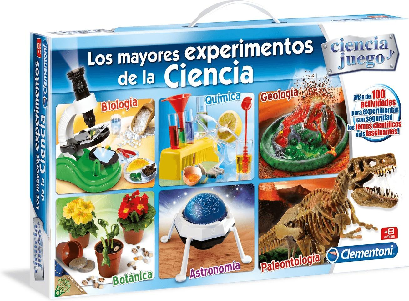 Clementoni Los mayores experimentos de la ciencia
