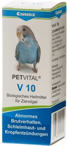 Canina Petvital V Linie für Vögel 10 g