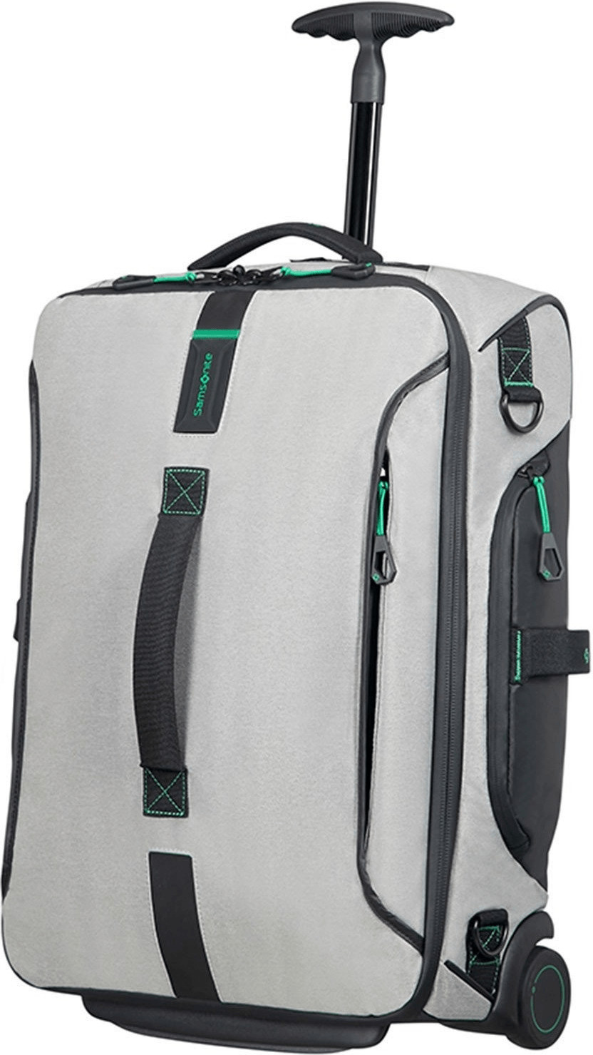 rabatt samsonite paradiver light reisetasche mit rollen 55cm rucksack jeans grey. Black Bedroom Furniture Sets. Home Design Ideas