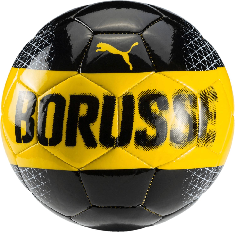 Puma BVB Mini Fan Ball cyber yellow/puma black