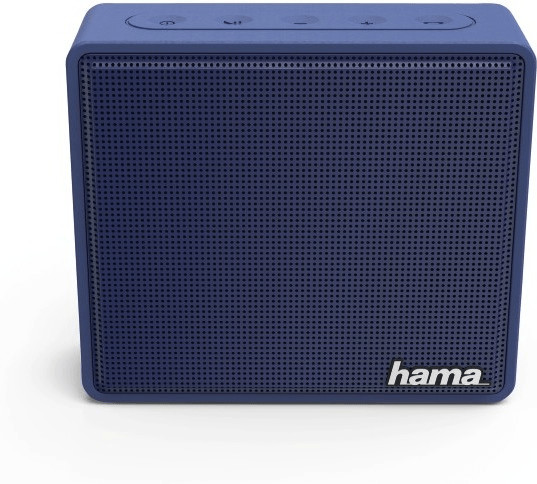Hama Mobiler Bluetooth-Lautsprecher Pocket mattblau