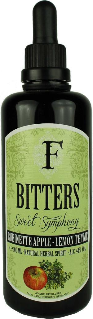 Ferdinand's Bitters Apfel Rubinette & Zitronenthymian 0,1l 44%
