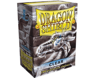Image of Arcane Tinmen Dragon Shield 100 Stück (clear)