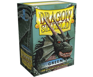 Image of Arcane Tinmen Dragon Shield 100 Stück (green)