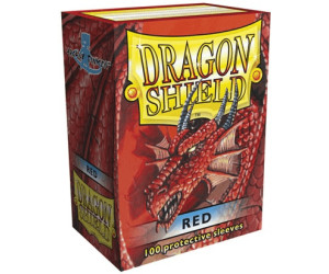 Arcane Tinmen Dragon Shield 100 Stück (red)