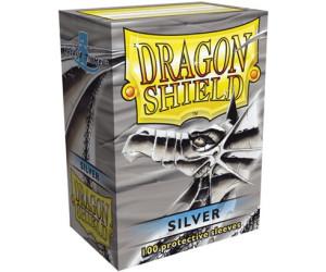 Image of Arcane Tinmen Dragon Shield 100 Stück (silver)