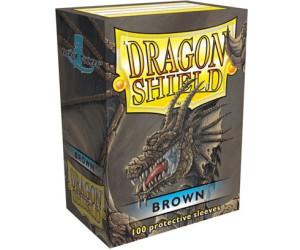 Arcane Tinmen Dragon Shield 100 Stück (brown)