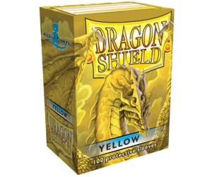 Image of Arcane Tinmen Dragon Shield 100 Stück (yellow)