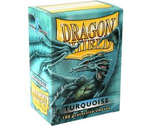 Arcane Tinmen Dragon Shield 100 Stück (turquoise)