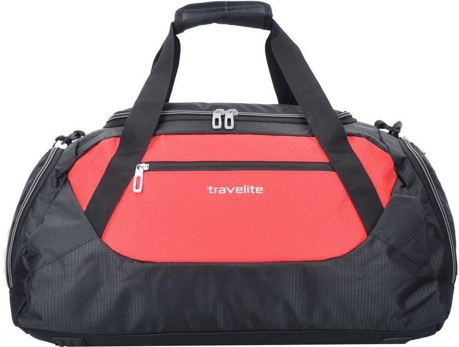 Travelite Kick Off Reisetasche M 55 cm red/black