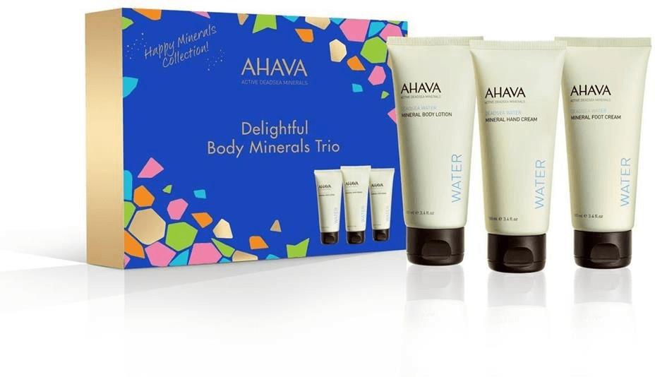 Ahava Delightful Body Minerals Set (3-tlg.)