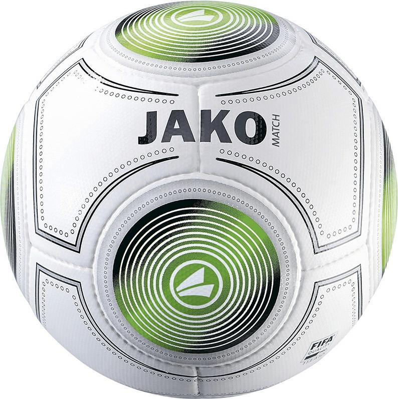 JAKO Match Spielball weiß/schwarz/grün