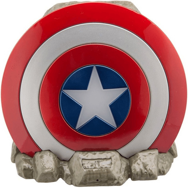 Image of iHome Marvel Captain America Shield (Vi-B72CA)