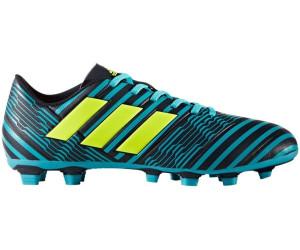 Nemeziz 17.4 FxG Homme Chaussures Football Blanc Noir Adidas