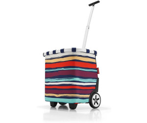 Reiseaccessoires Reisenthel Carrycruiser Diamonds Rouge Cruiser 40 L Trolley Shopper Einkaufskorb