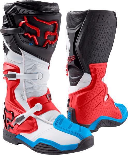 Fox Comp 8 Boots blau/weiss