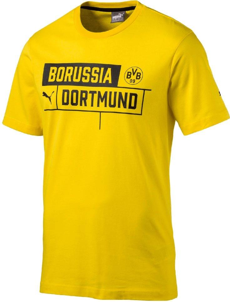 Puma BVB Borussia Tee T-Shirt cyber yellow