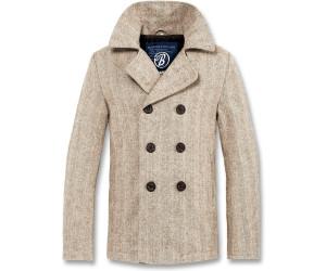 Brandit Pea Coat (3109) beige heringbone