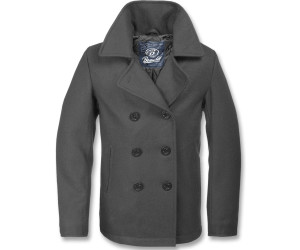 Brandit Pea Coat (3109) anthracite