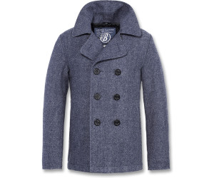 Brandit Pea Coat (3109) denimblue heringbone