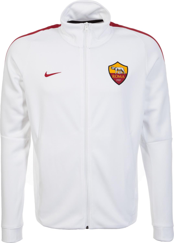 Nike AS Rom Franchise Jacke white/team crimson