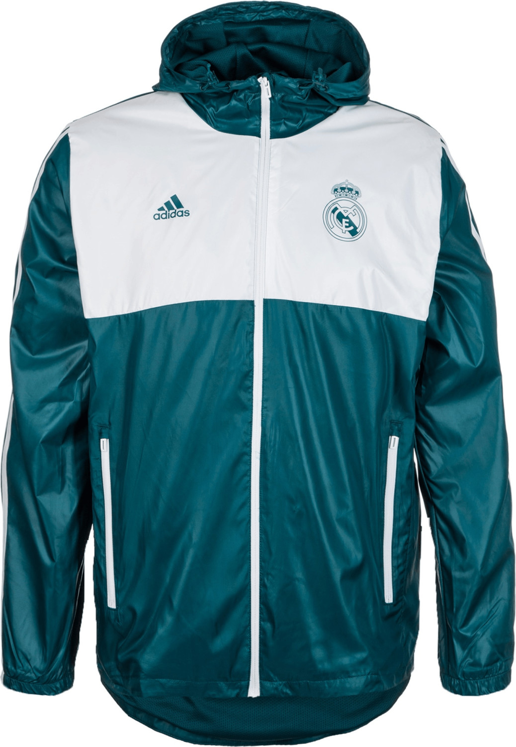 Adidas Real Madrid Windbreaker petrol night/white